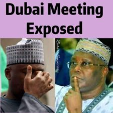 Electoral Bill: Another Dubai meeting resolution exposed, as Atiku, Saraki, Dogara, other PDP leaders' plot to veto Buhari uncovered