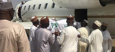 Shagari's remains leave Abuja for his hometown