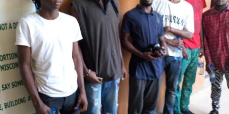2019: Sowore's Supporters Arrested by Lagos CP for pasting posters
