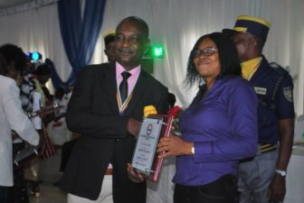 Crimes Reporters Association presents Lagos Task Force Spokesman with Excellence Award