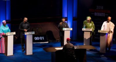 "Nigerians shun ""media bias"", score Osinbajo higher in Vice Presidential Debate than Obi, others"