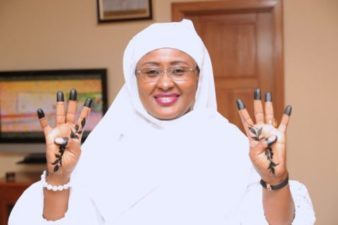 Aisha Buhari thanks Nigerians for support