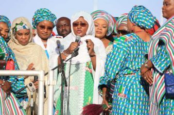 Aisha Buhari launches women, youth campaign for Buhari 2019 in Kano