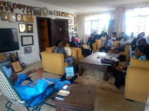 Society of International Law visits Bola Ajibola