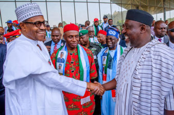 Buhari launches APC Presidential Campaign Council, puts Tinubu in full charge, on 24-hour-vigil over campaign