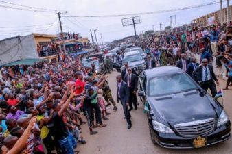 Aba Rally: President Buhari promises more infrastructure as he gets key endorsements