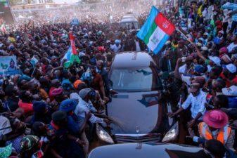 Plateau mammoth crowd symbolises endorsement of President Buhari — Gov. Lalong