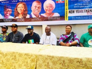 Group rallies support for Buhari, Sanwo-Olu, APC candidates in Surulere