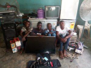 Ogun Police arrested four Church robbers
