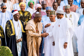 Buhari pledges to do more to secure Nigeria, as Borno delegation visits