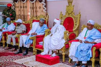 Photo News: Buhari visits Emir of Gwandu