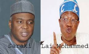 Lai Mohammed says Saraki not instrumental to his appointment as Buhari's Minister
