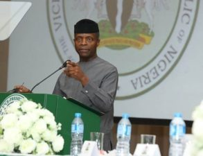 We will not forget our military heroes, says Osinbajo as VP says national unity is best tribute to them
