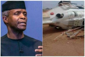 MURIC rejoices with Vice President Osinbajo over escape from helicopter crash