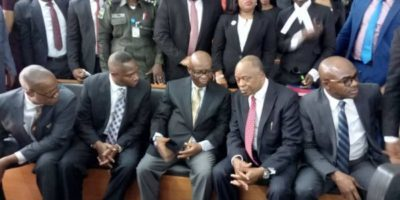 Onnoghen appears at Code of Conduct Tribunal
