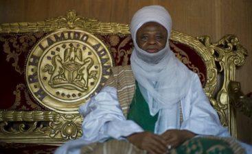 President Buhari felicitates with Lamido of Adamawa at 75