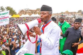 Feb. 16 Poll: Nigeria's VP Osinbajo tells electorates to shun voting by sentiments