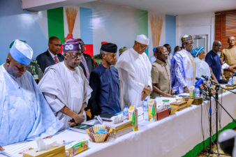 I have garnered adequate support to give me victory on Saturday – Buhari