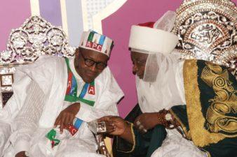 Next task for Buhari is to take Nigeria to the NEXT LEVEL, Emir of Ilorin, Saraki's Monarch tells President on visit to Kwara