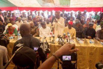 Tinubu woos Igbo voters in Lagos for APC