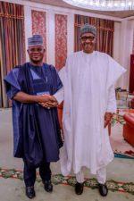 Buhari hosts APC Governors, Senators-elect to a dinner