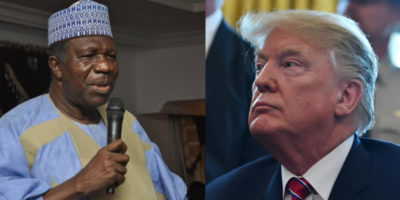 Investigate your researchers who packaged poor, misleading security, human rights report on Nigeria, Former Senate President writes US President Trump