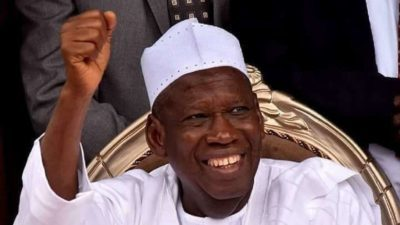 BREAKING NEWS: Ganduje scales odds, finally wins Kano governorship election in landslide