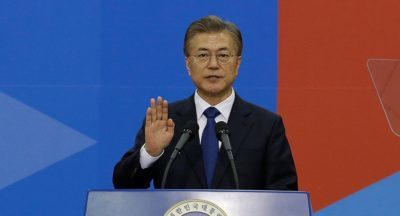 President of Republic of Korea congratulates Nigeria's President Buhari on re-election
