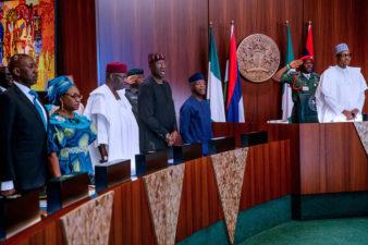 PHOTOS: Wednesday's FEC meeting in Abuja