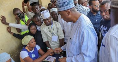 Saraki, Agbaje express disappointment over low voters turnout, as el-Rufai decries development