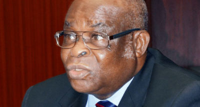 Onnoghen Present For Trial At CCT After Health Issues