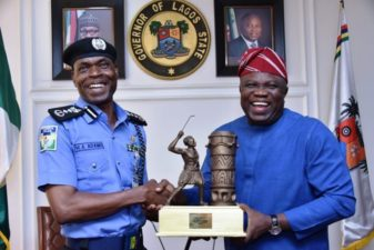 IGP Adamu storms Lagos with stern warning to officers over killing of innocent citizens