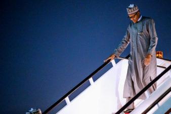 Buhari departs Jordan, arrives Dubai