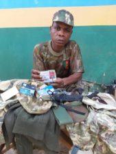 Ogun Police arrests fake soldier