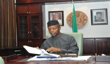 FG spent N3.5trn on infrastructure in 3 years – Osinbajo