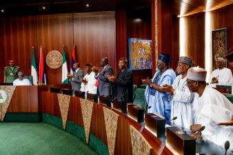President Buhari refuses to sack Ministers, asks them to remain in office, handover to Permanent Secretaries May 28