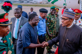 "Femi Adesina asks if ""reckless"" online media can now swallow their words, as President Buhari returns"