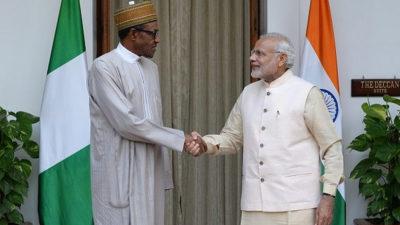 President Buhari congratulates India's Modi on election victory