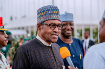 London trip not for compilation of ministers' list – Buhari