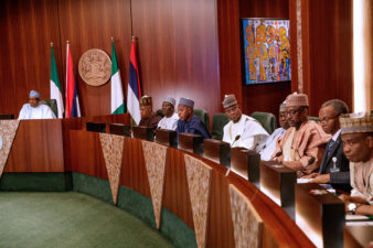 The council will be secured, and I won't let the nation down, President Buhari assures