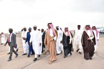 Buhari departs Madinah for Makkah