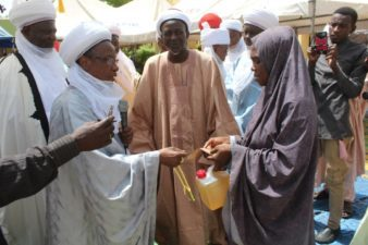 Sokoto State Zakat and Endowment Fund's Ramadan magnanimity in picture with Wazirin Sokoto, Sambo Junaidu, other notable featuring