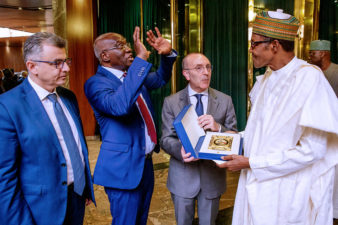 President Buhari welcomes Italian support on repatriation of stolen funds