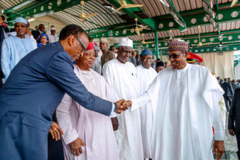 PHOTOS: Faces at Inaugural June 12 Democracy Day Celebration in Nigeria on Wednesday June 12, 2019
