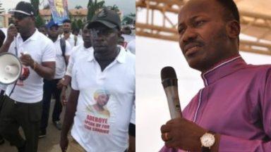 Eedris Abdulkareem takes on Apostle Suleman over protest against Pastor Adeboye