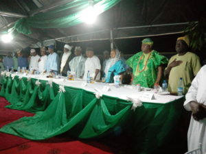 Sultanate Visit: Governor Tambuwal treats Deji of Akure to glamorous Gala Night