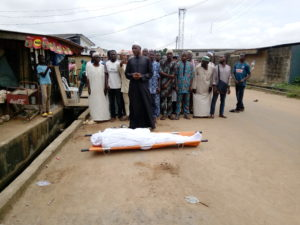 IMRAN SHITTU: Burial services begin in Lagos