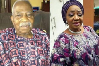 President Buhari condoles with Afenifere Leader, Pa Fasoranti, over daughter's death