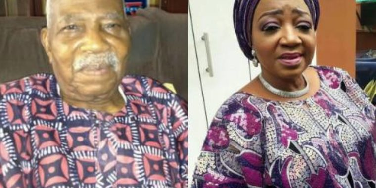 President Buhari condoles with Afenifere Leader, Pa Fasoranti, over daughter's death