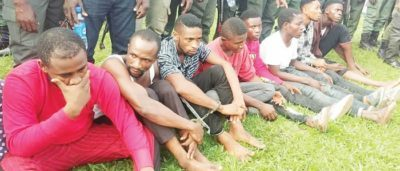 2 notorious kidnappers, Emmanuel Fyneface, Chika Chukwu shot in gun battle with Police, as 15 others arrested in Rivers